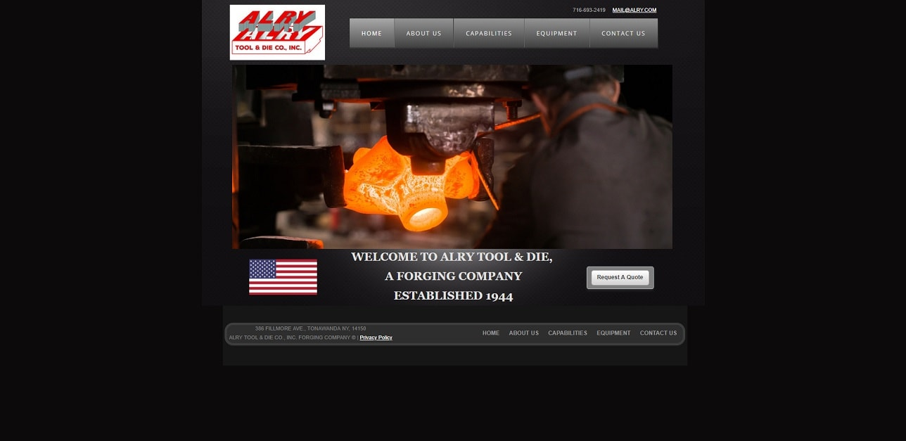Alry Tool & Die Co., Inc.