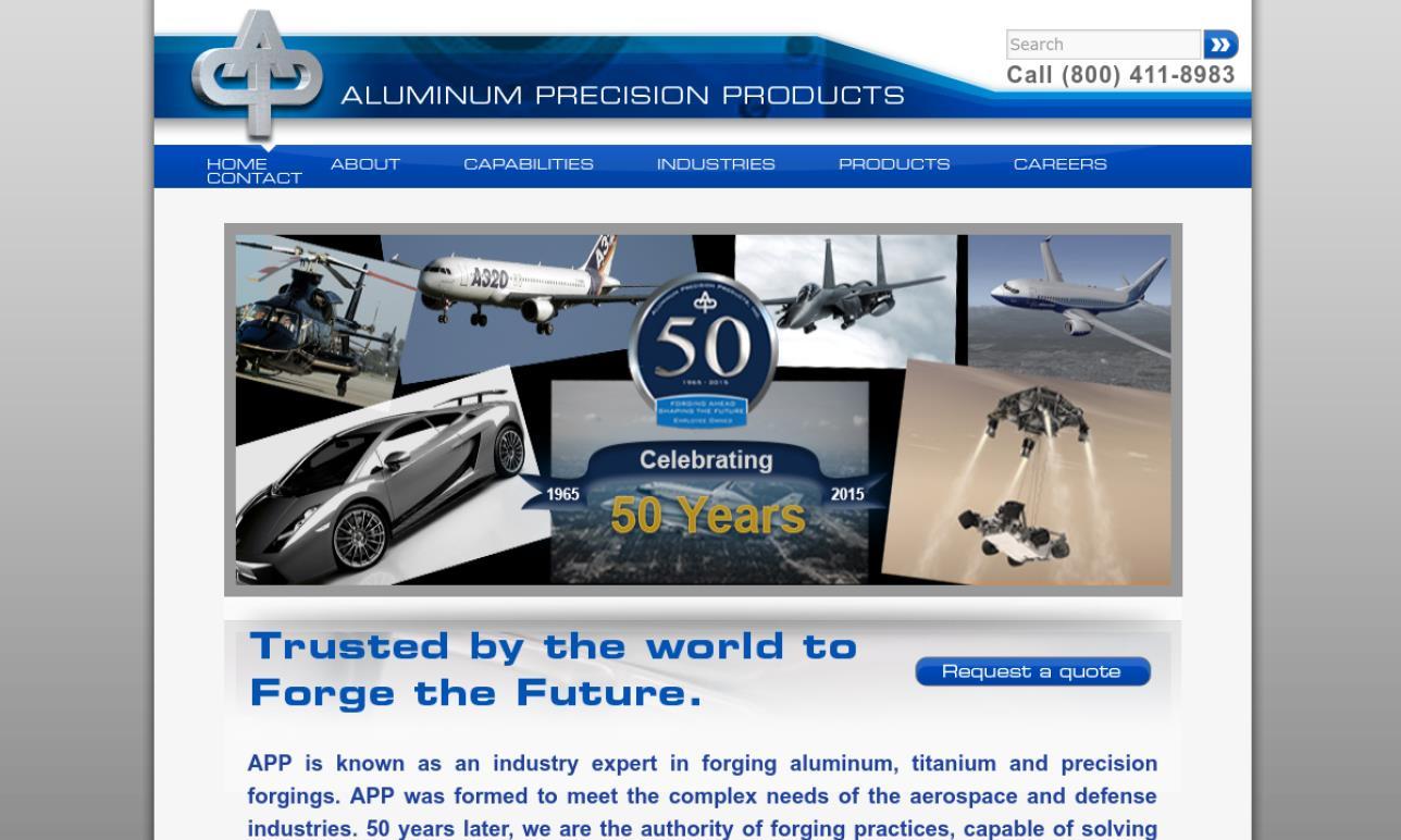 Aluminum Precision Products