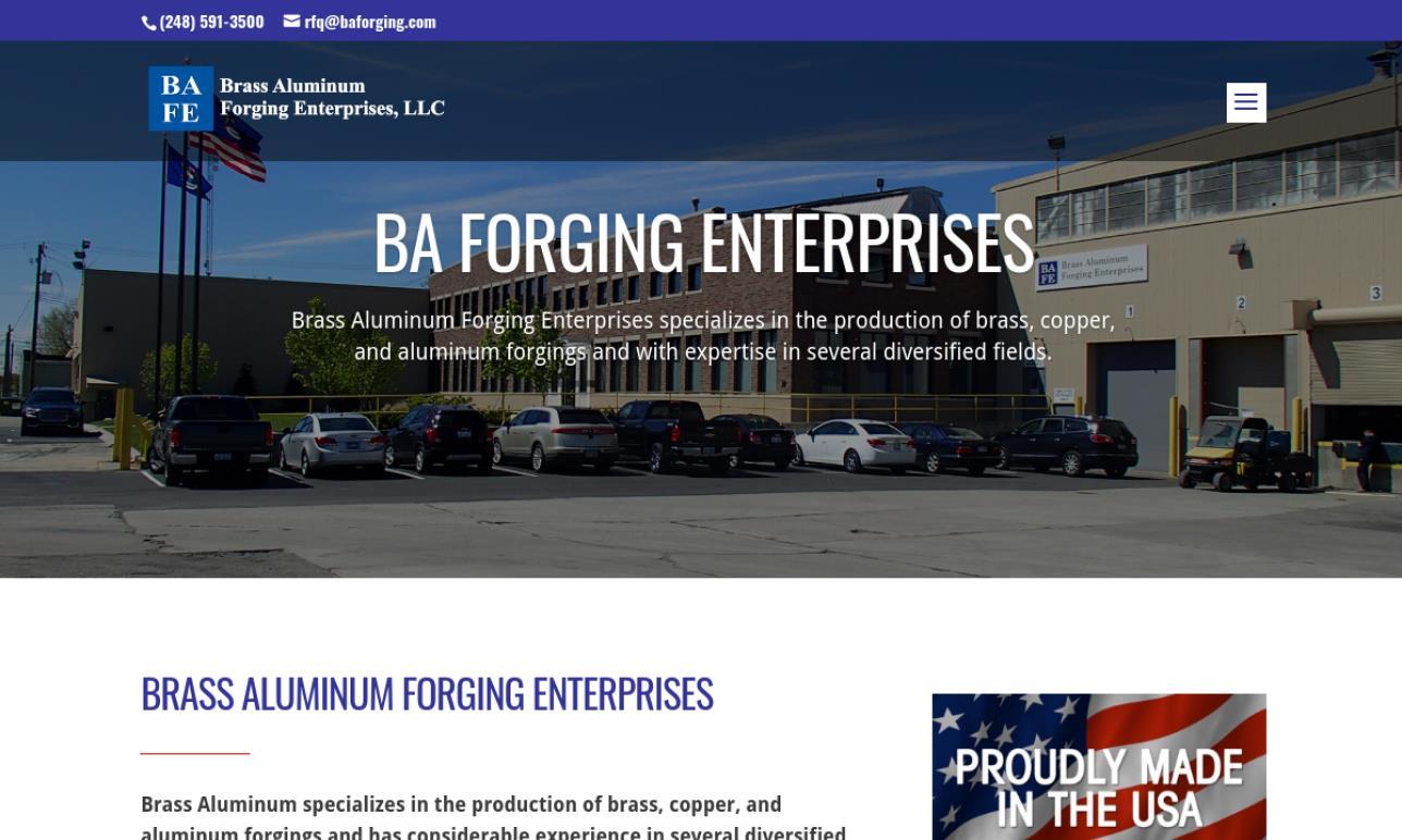 Brass Aluminum Forging Enterprises