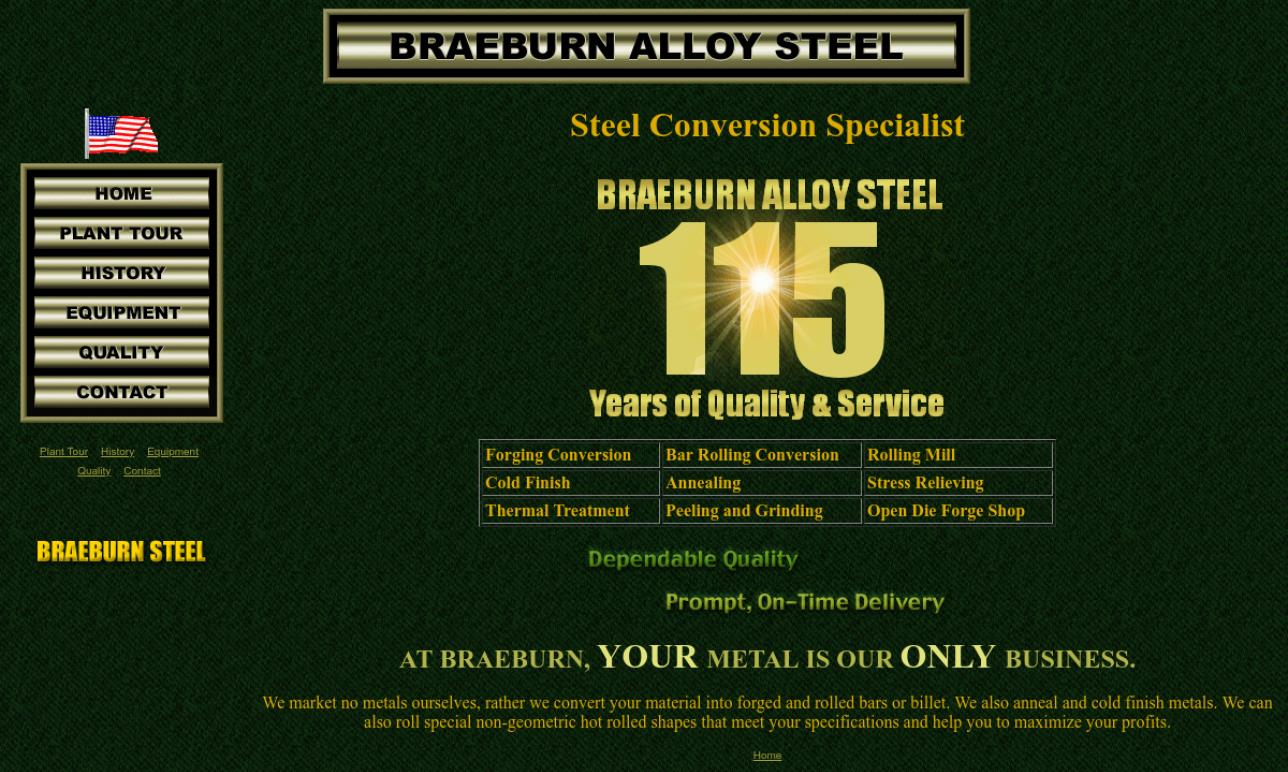 Braeburn Alloy Steel