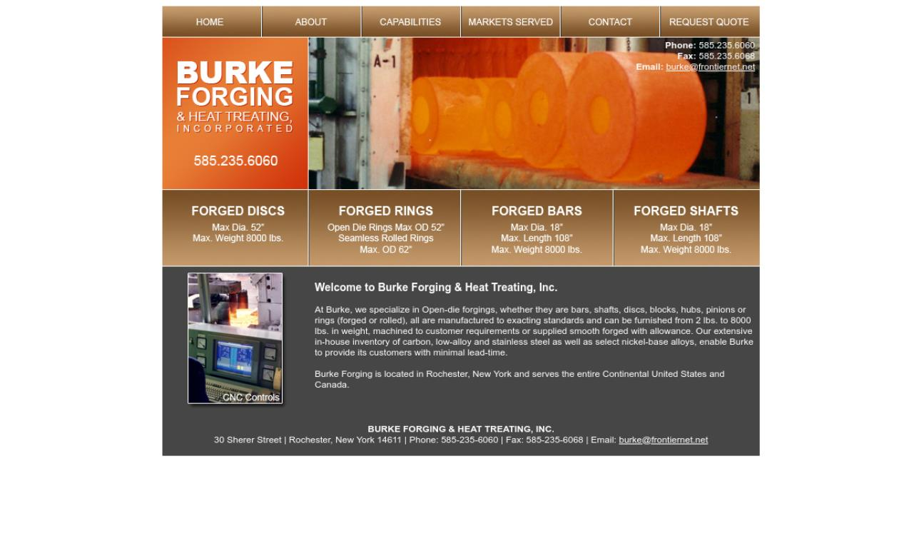 Burke Forging & Heat Treating, Inc.