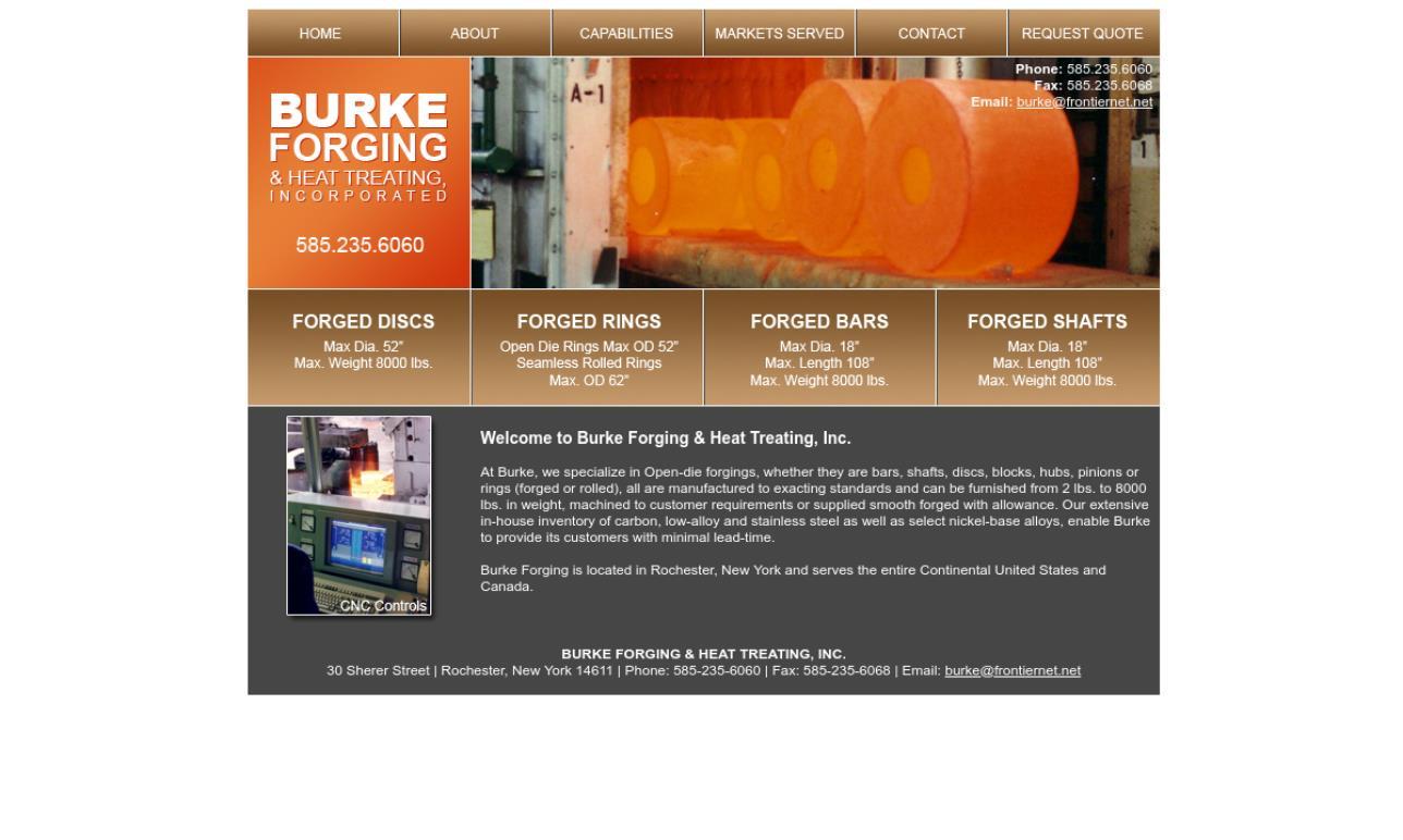 Burke Forging & Heat Treating, Inc.