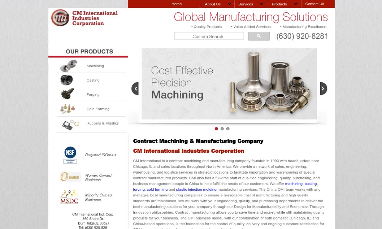 CM International Industries Corp.