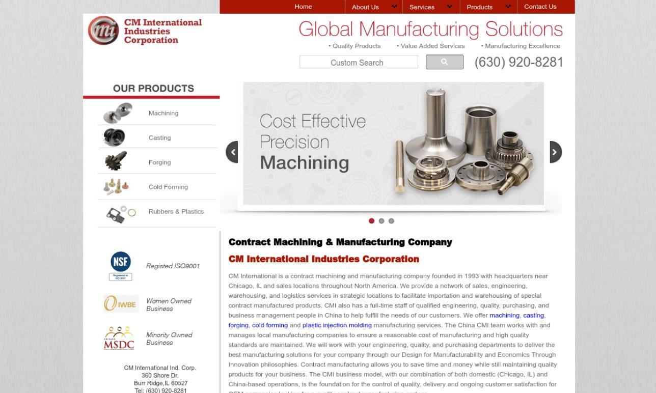 CM International Industries Corp.