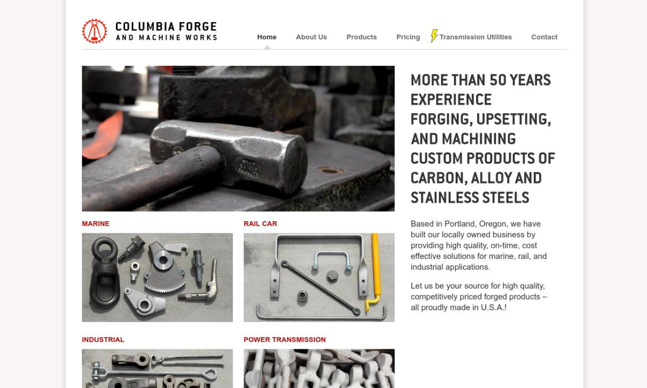 Columbia Forge & Machine Works, Inc.