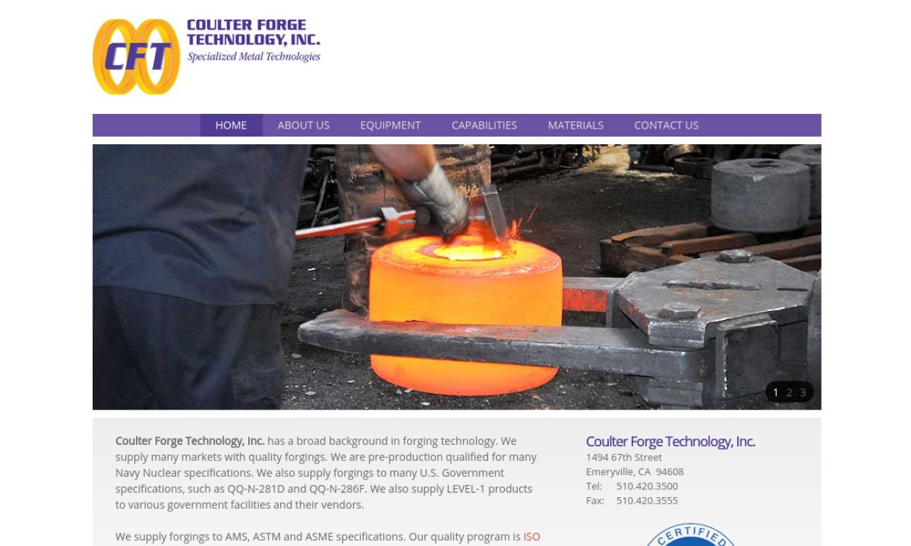 Coulter Forge Technology, Inc.