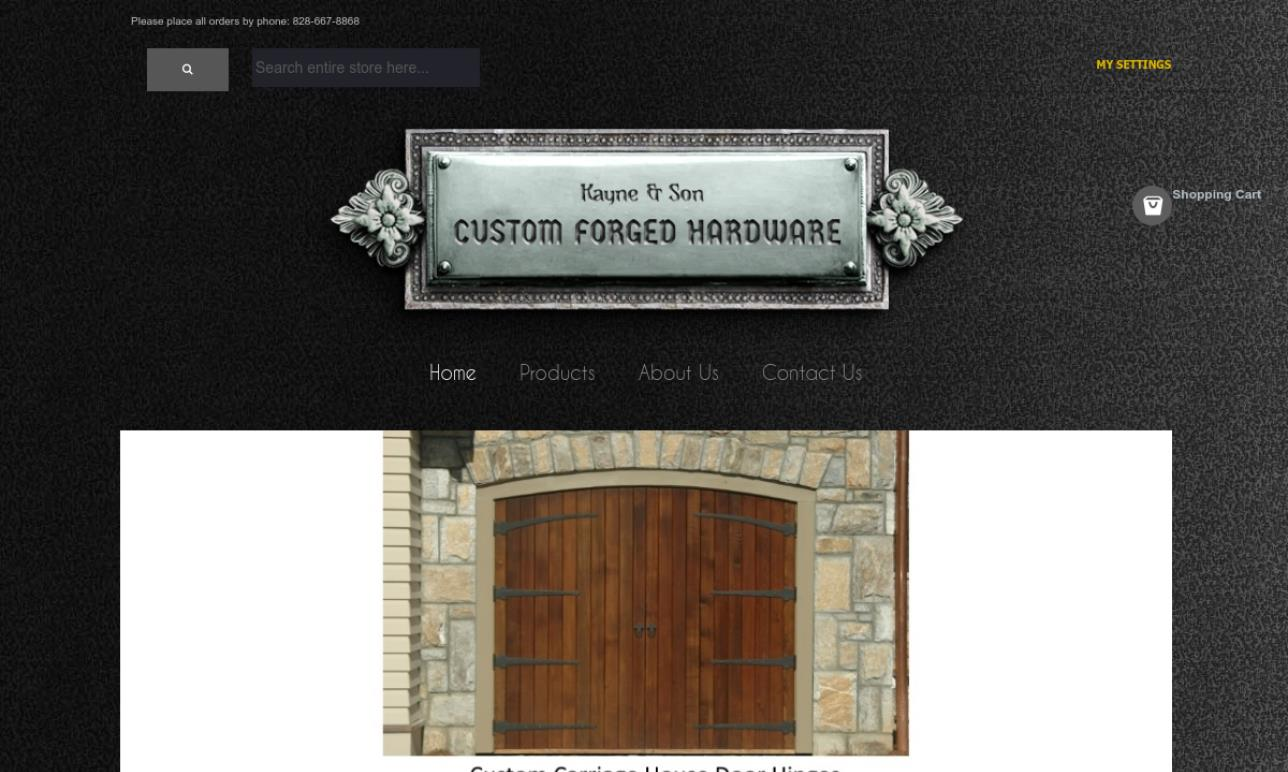 Kayne and Son Custom Hardware Inc.