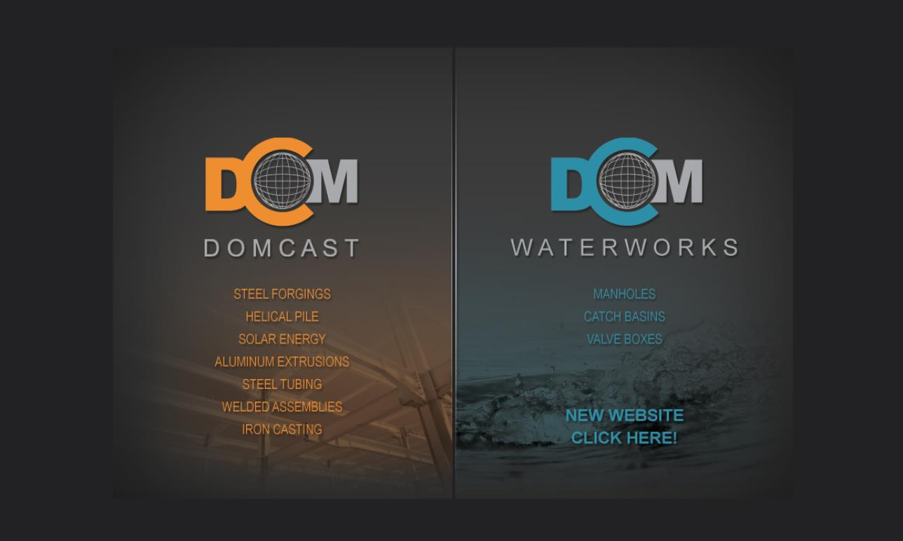 Domcast Components & Assemblies