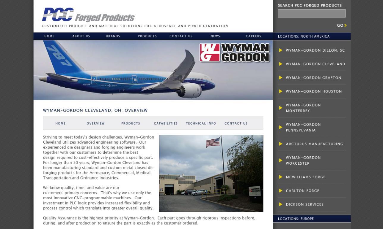 Wyman-Gordon Forgings, Inc.