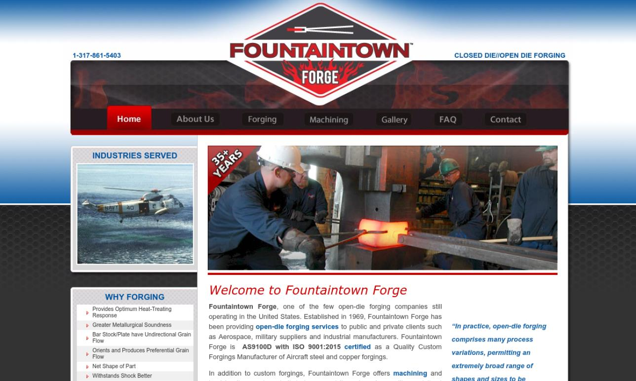 Fountaintown Forge, Inc.