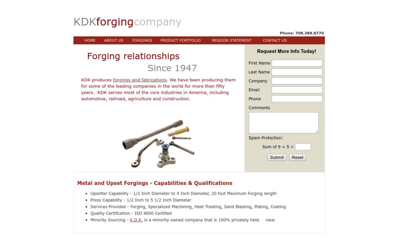 K.D.K. Forging Company