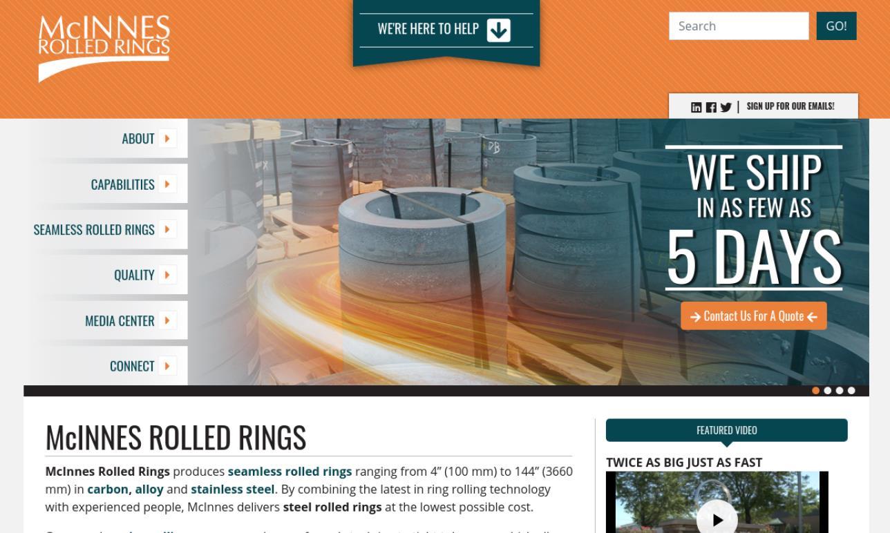 McInnes Rolled Rings