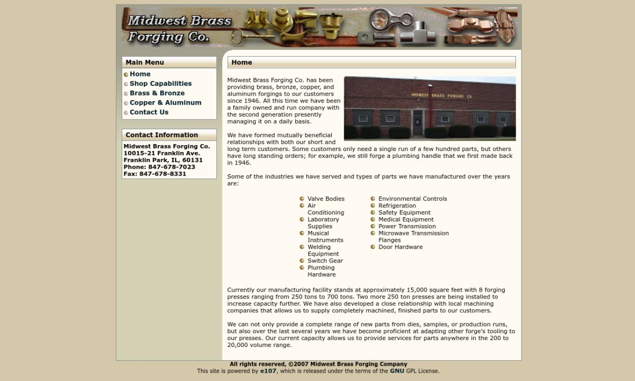 Midwest Brass Forging Co.