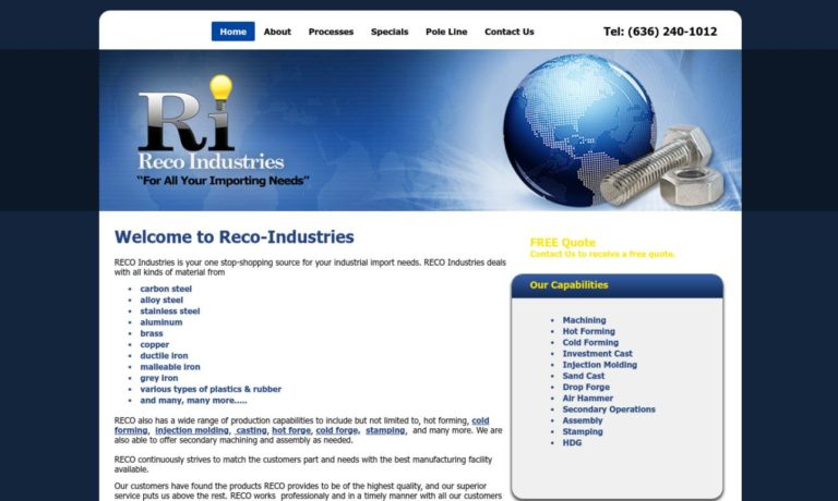 Reco Industries