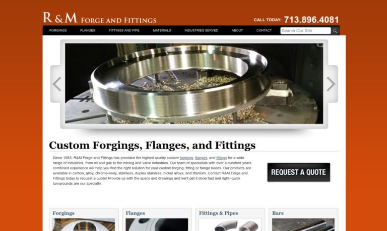 R & M Forge & Fittings, Inc.