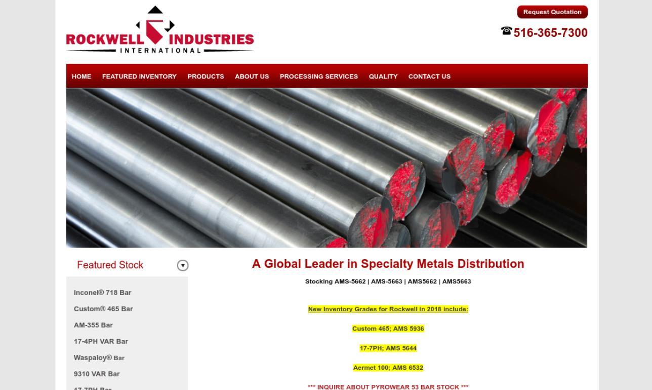 Rockwell Industries International Corporation