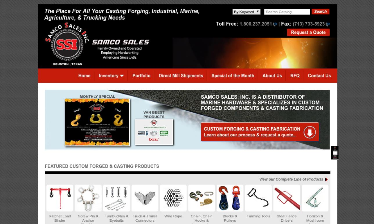 Samco Sales, Inc.