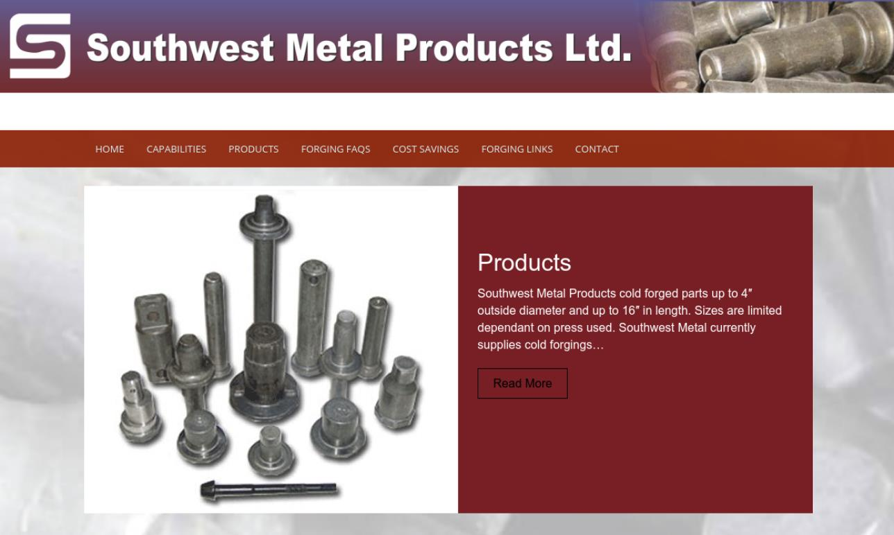 Southwest Metal Products Ltd.