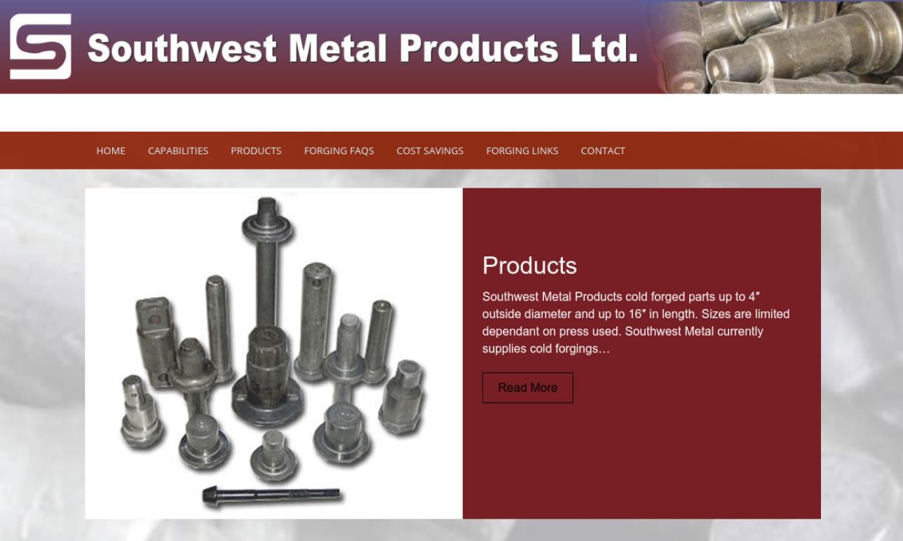 Southwest Metal Products Ltd.