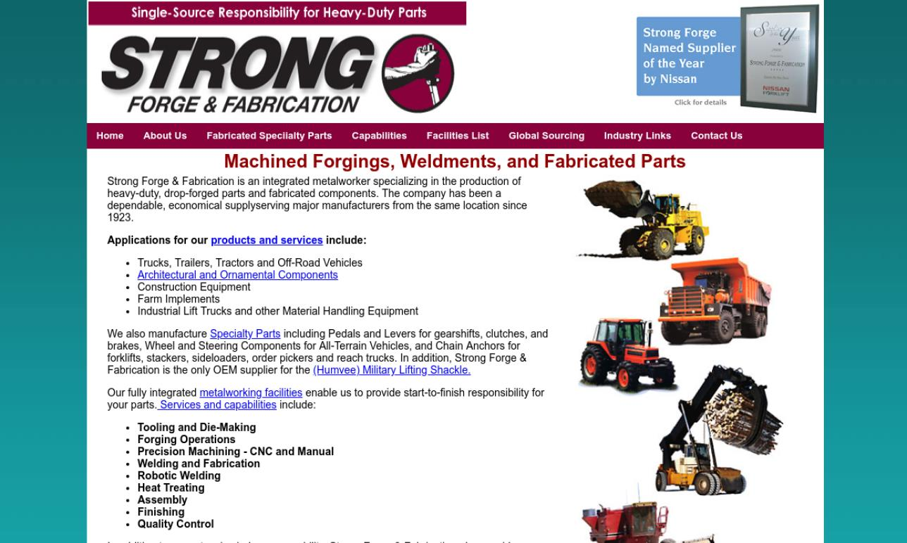 Strong Forge & Fabrication