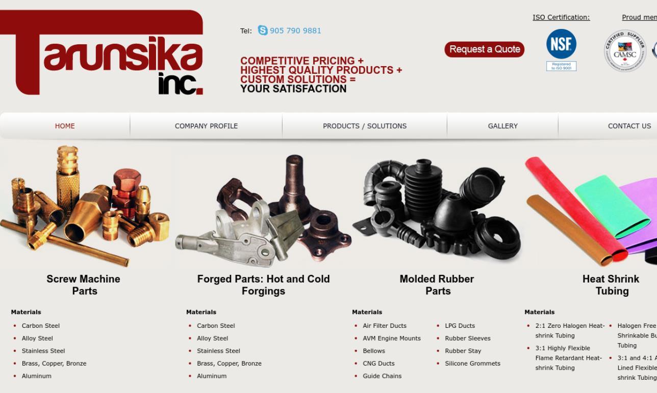 Tarunsika Inc.