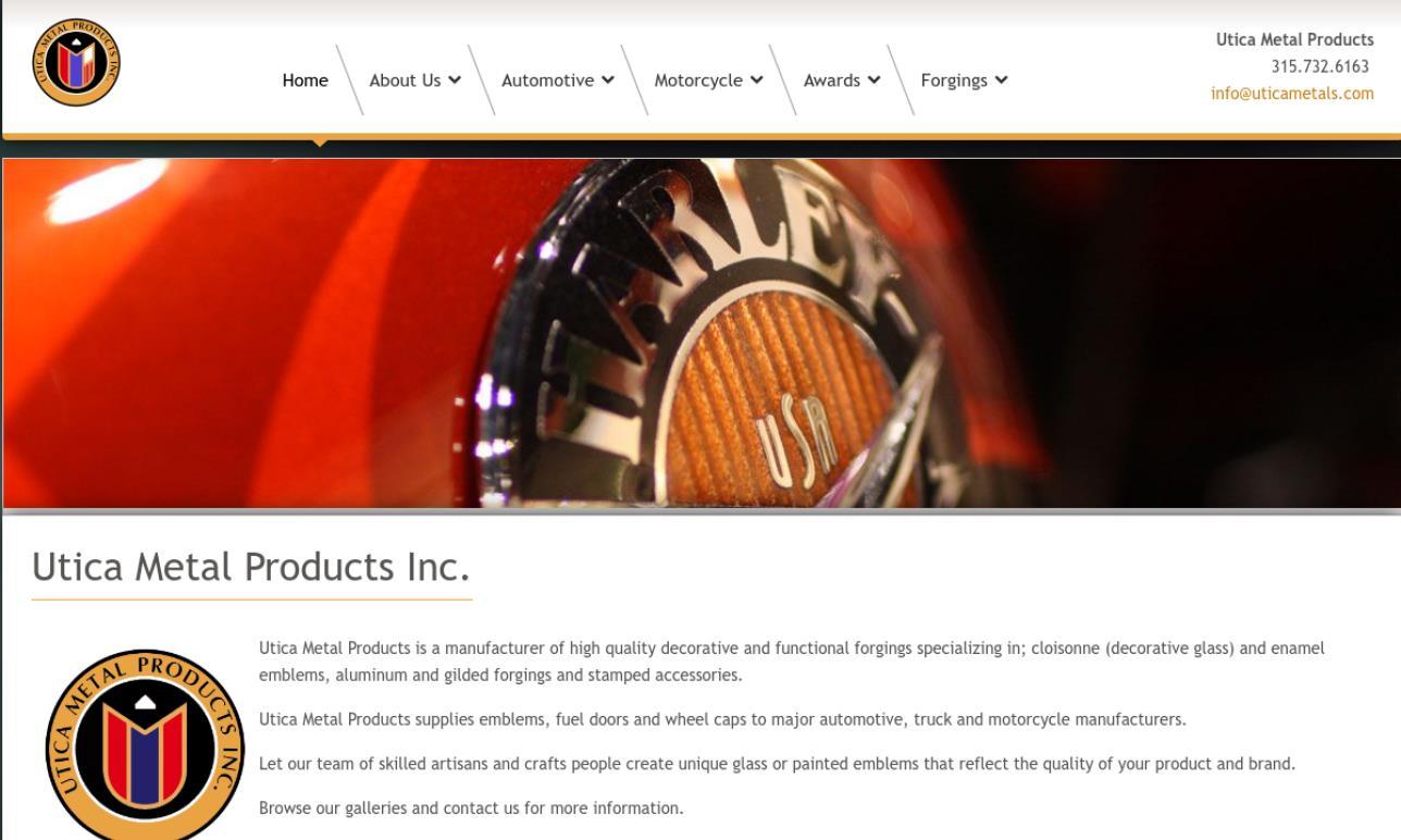 Utica Metal Products, Inc.