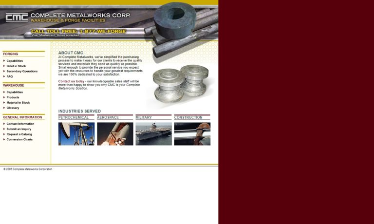 Complete Metalworks Corp. LLC